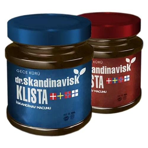 Dr Skandinavisk Klista Macun Seti 2 Set 4 Kavanoz